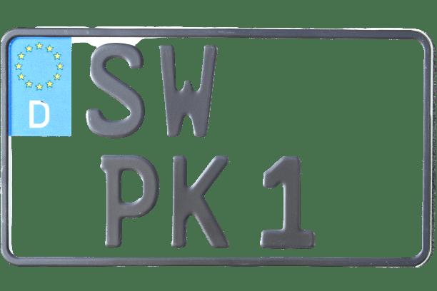 Leichtkraftrad-Kennzeichen online bei premium Kennzeichen bestellen