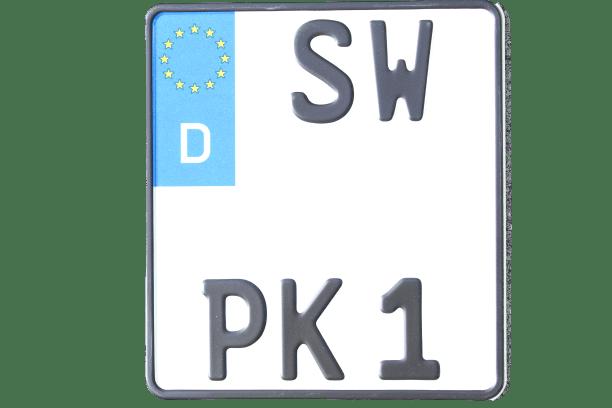 Motorradkennzeichen online bei premium Kennzeichen bestellen